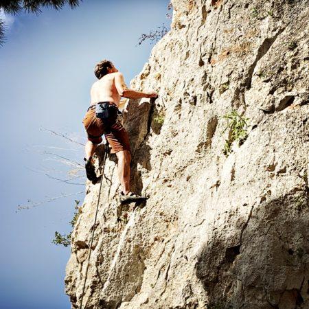 Sportklettern, Kletterferien, Alpinklettern, Hochtouren, Abenteuer-Seilpark, Disentis, Muntognas