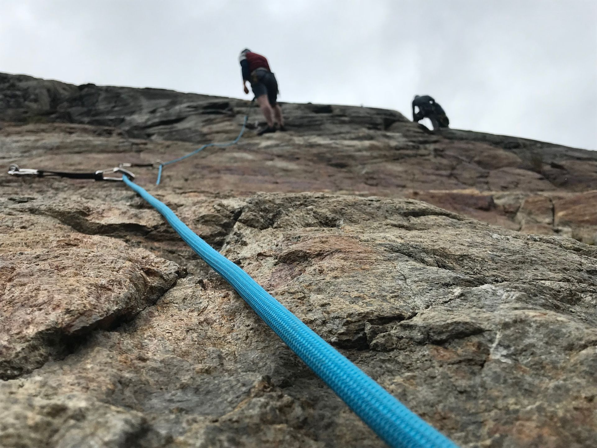 Outdoor-Klettern